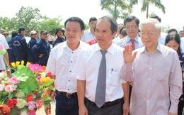 Tổng bí thư Nguyễn Phú Trọng làm việc với các doanh nghiệp đầu tư vào Lào