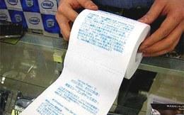 Bi hài chuyện thưởng Tết bằng 10 bịch giấy vệ sinh