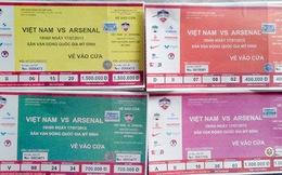 Ế 1.000 vé trận Việt Nam - Arsenal