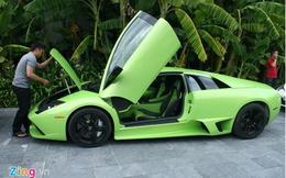 Lộ diện chủ nhân Lamborghini xanh cốm độc nhất Việt Nam