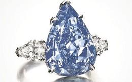 24 triệu đô cho viên kim cương xanh lớn nhất thế giới