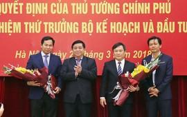 Trao quyết định bổ nhiệm 2 Thứ trưởng Bộ Kế hoạch và Đầu tư