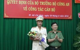 Bộ Công an điều động Phó Giám đốc Công an TPHCM