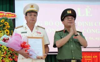 Long An bổ nhiệm Phó Giám đốc Công an tỉnh