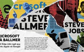 Microsoft và Ballmer: Một thập niên ngã quỵ trước Apple và Google