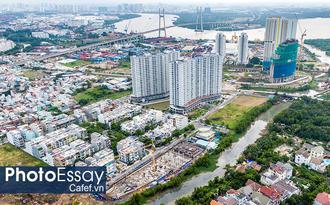 Cung đường dự án tỷ đô khiến bất động sản khu Nam Sài Gòn trỗi dậy
