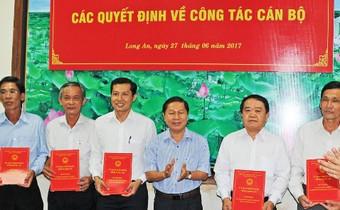 Bổ nhiệm, điều động một số lãnh đạo tỉnh Long An