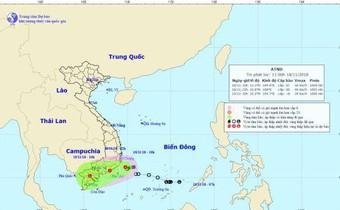 Bão số 8 suy yếu thành áp thấp, mưa lớn diện rộng