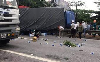 Chủ tịch Hội Nông dân xã tử vong trong vụ tai nạn kép khiến 6 người chết ở Hải Dương