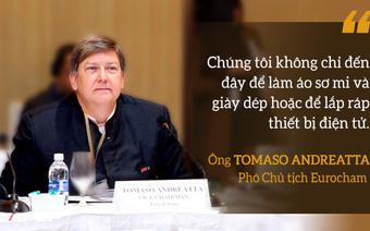 """""""Chúng tôi không chỉ đến đây để làm áo sơ mi, giày dép hoặc để lắp ráp thiết bị điện tử"""" và câu trả lời của người đứng đầu Chính phủ Việt Nam"""