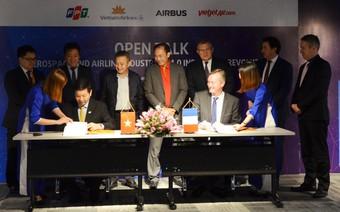 Vietjet, Vietnam Airlines 'tiết lộ' chiến lược công nghệ hàng không tại cuộc đối thoại cùng Airbus