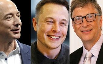 4 đặc điểm giúp Bill Gates, Elon Musk và Jeff Bezos thành công