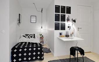 Ngắm những phòng ngủ nhỏ nhưng tiện và hiện đại đến không ngờ