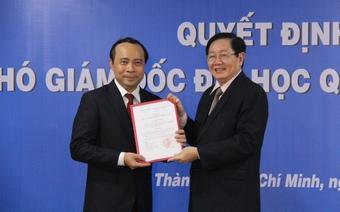 PGS.TS Vũ Hải Quân được bổ nhiệm Phó Giám đốc ĐHQG TP.HCM