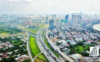 Dự án tỷ đô ồ ạt đổ bộ khu Đông Sài Gòn