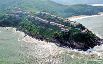 Toàn cảnh khu nghỉ dưỡng Luguna Lăng Cô đề xuất tăng vốn lên 2 tỷ USD làm casino nhìn từ trên cao