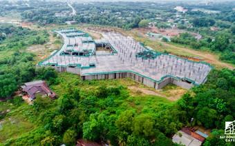 """Cận cảnh dự án bệnh viện hơn 2.300 tỷ đồng """"đắp chiếu"""" tại thành phố mới Bình Dương"""
