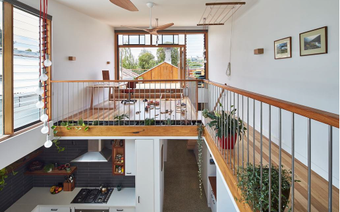 Với thiết kế độc đáo, ngôi nhà ống này vừa xuất hiện ấn tượng trên tạp trí kiến trúc nổi tiếng của Mỹ
