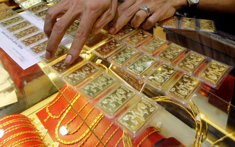 Giá vàng tiếp tục tăng phiên cuối tuần