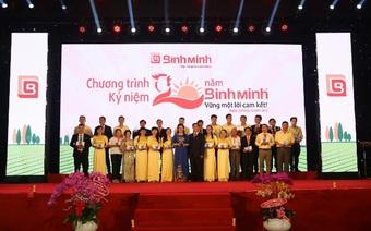 BìnhMinhGroup20 năm thành lập với triết lý kinh doanh gắn liền trách nhiệm xã hội