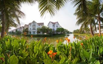 """Tiểu khu Nguyệt Quế cùng """"Kiến trúc Hy Lạp"""" tỏa sáng tại khu đô thị sinh thái Việt"""
