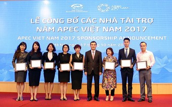 Tự hào thương hiệu Vang Việt được chiêu đãi tại Hội nghị APEC 2017