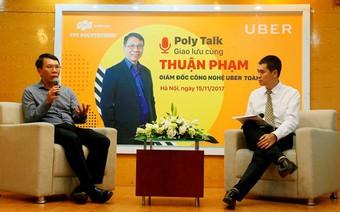 Giám đốc công nghệ Uber toàn cầu truyền cảm hứng cho sinh viên Cao đẳng FPT Polytechnic