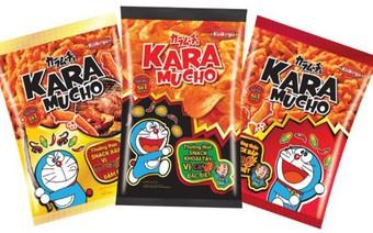 Doanh số khởi sắc của snack cay Nhật sau tháng đầu ra mắt