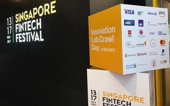 """Học hỏi người Singapore trong đại hội FinTech toàn cầu, ngân hàng việt chủ động """"tăng tốc"""" công nghệ"""