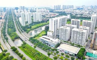Khu Nam Sài Gòn đi đầu thành phố về hoàn thiện hạ tầng