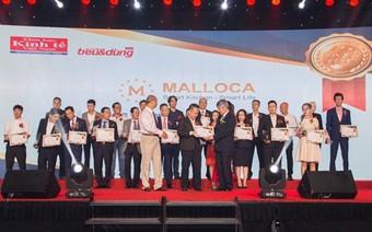 Malloca vào Top 100 sản phẩm Tin và Dùng Việt Nam 2017