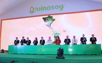 Vinasoy khánh thành giai đoạn một nhà máy 900 tỷ đồng ở Bình Dương
