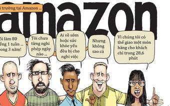 """""""Đấu trường đẫm máu"""" Amazon: Nơi bạn sẽ bị đuổi việc khi chăm bố mẹ ốm, con nhỏ hay bản thân lâm trọng bệnh, ai cũng trực chờ """"triệt hạ"""" đồng nghiệp"""