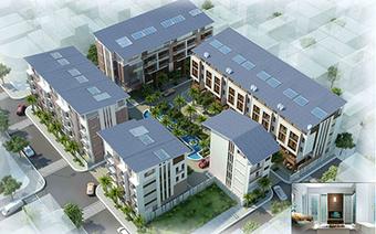 Long Biên có thêm dự án nhà ở thấp tầng rộng gần 3.000m2