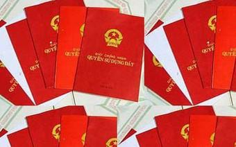 """Bộ Tài Nguyên và Môi trường: Giảm một nửa thời gian cấp """"sổ đỏ"""""""