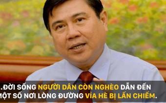 """Chủ tịch TP.HCM: """"Tôi xin đính chính lại vì có thể mọi người đã hiểu nhầm ý tôi"""""""