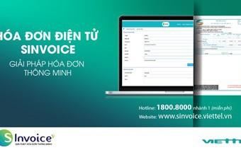 Viettel cung cấp dịch vụ hóa đơn điện tử thông minh S-Invoice cho doanh nghiệp