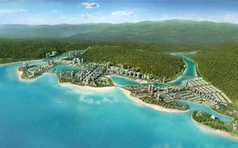 """Halong Marina - """"Thành phố thu nhỏ"""" sôi động bên bờ vịnh"""