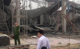 Cận cảnh hiện trường vụ sập giàn giáo khiến 3 công nhân thiệt mạng ở Hà Nội