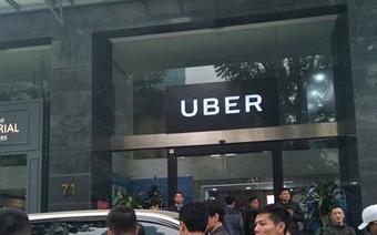 Đến lượt Uber phát đi cảnh báo đến tài xế tại Hà Nội