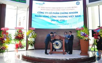 CTCK VietinBank (CTS) báo lãi 134 tỷ đồng năm 2017, tăng 31% so với năm 2016