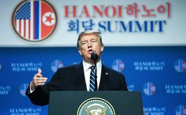 Họp báo kết thúc, ông Trump trở về Washington DC, chưa có kế hoạch cho Hội nghị Thượng đỉnh lần 3