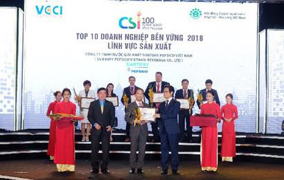 Suntory PepsiCo Việt Nam đạt nhiều thành tựu nổi bật trong năm 2018