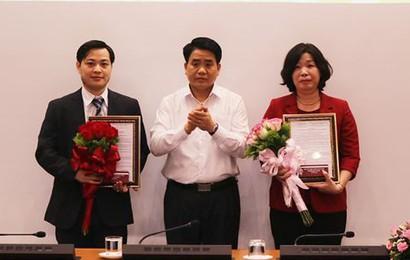 Hà Nội bổ nhiệm 02 Phó Giám đốc Sở