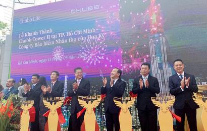 Chubb Life Việt Nam khánh thành Chubb Tower II mới tại thành phố Hồ Chí Minh