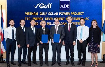 ADB tài trợ xây dựng và vân hành nhà máy điện mặt trời tại Việt Nam
