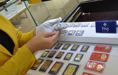 Giá vàng tiếp tục tăng, lên gần 46 triệu đồng/lượng
