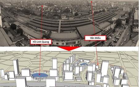 Đồ án ga Hà Nội ảnh hưởng tới hơn 44.000 dân như thế nào?