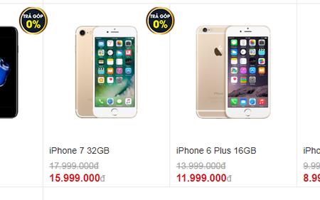 """iPhone cũ đồng loạt giảm 500 nghìn-2 triệu đồng, iPhone 8 không """"đội giá"""" nhiều"""