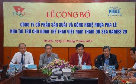 Nhựa Pha Lê (PLP) đồng hành cùng Đoàn TTVN tham dự SEA Games 29